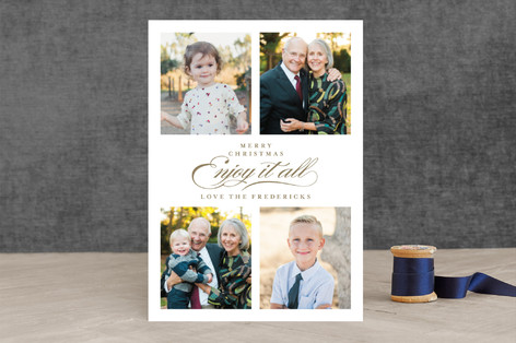 Grand Love Christmas Photo Cards