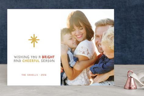 The Gospel of Peace Christmas Photo Cards
