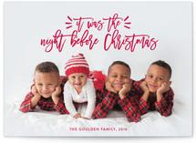 Sending Family Love Christmas Photo Cards