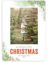 Winter Sketchbook Christmas Photo Cards
