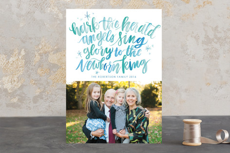 Hark the Herald Angels Christmas Photo Cards