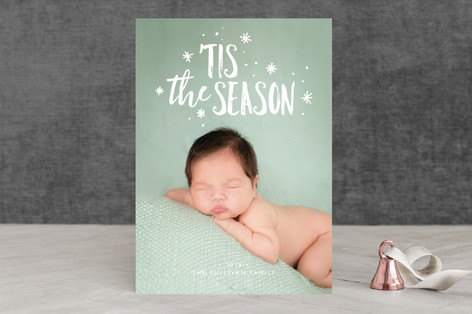The Greatest is Love Christmas Photo Cards