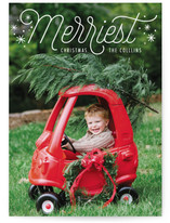 Merriest Confetti Christmas Photo Cards