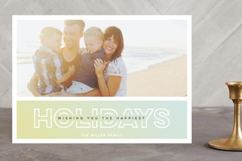 All Glory Christmas Photo Cards