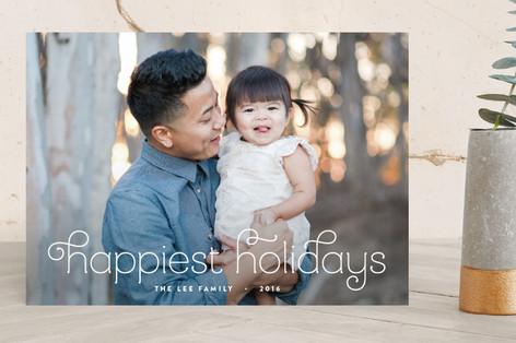 Sugarplums Christmas Photo Cards