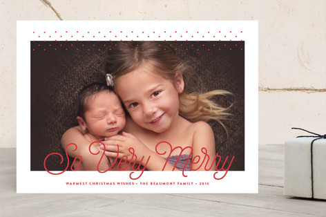 O Night Divine Christmas Photo Cards