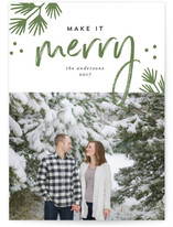 Merry Making Christmas Photo Cards