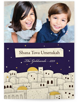 Jerusalem Rosh Hashanah Cards