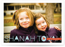 Postcard Wishes Rosh Hashanah Cards