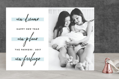 new year new plans New Year's Photo Cards