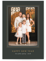 Glitz New Year's Photo Cards