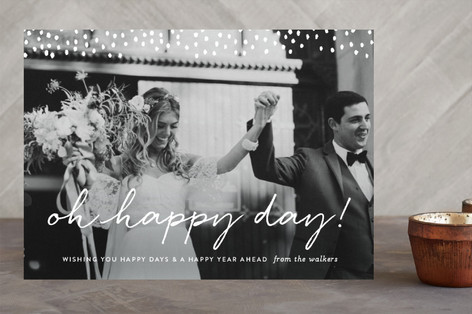 Oh Happy Day New Year's Photo Cards