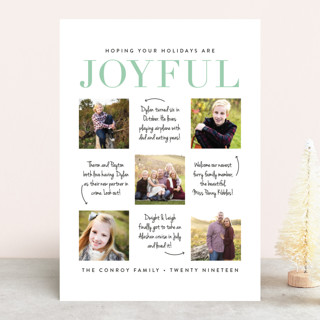 Holiday Happenings New Year's Photo Cards