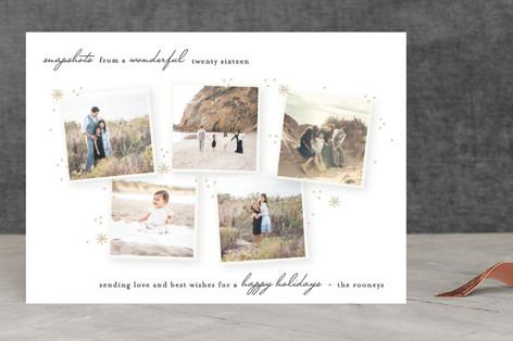 Snapshots New Year's Photo Cards