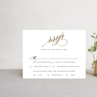 Flourish RSVP Postcards