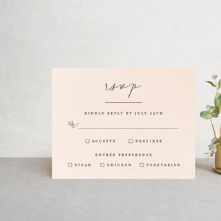 Simply Perfect RSVP Postcards