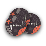 Fall Foliage Rounded Stickers