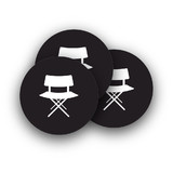 Movie Rounded Stickers
