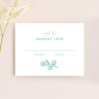 Blessed Lace RSVP Cards