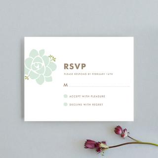 Sunday Succulent RSVP Cards