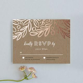 Hidden Branches RSVP Cards