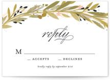 Floral Crown RSVP Cards
