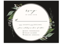 Natures Greens RSVP Cards