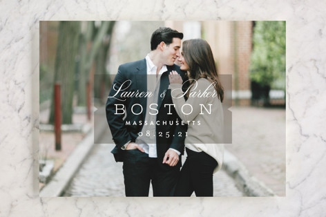 Locale Save the Date Cards