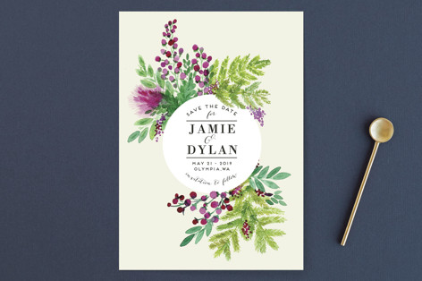 Wedding Watercolors Save the Date Cards