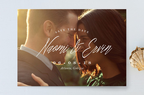 Elegant Mix Save the Date Cards