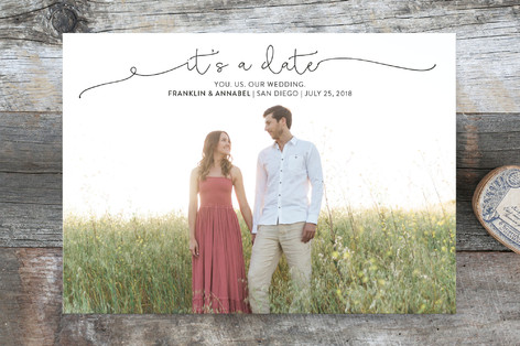 It's a Date! Save the Date Cards