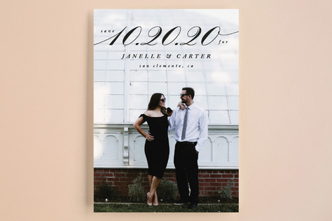 Sway Save the Date Cards