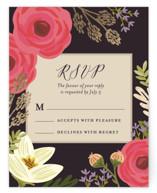 Rhapsody Foil-Pressed RSVP Cards