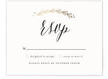 Always Foil-Pressed RSVP Cards