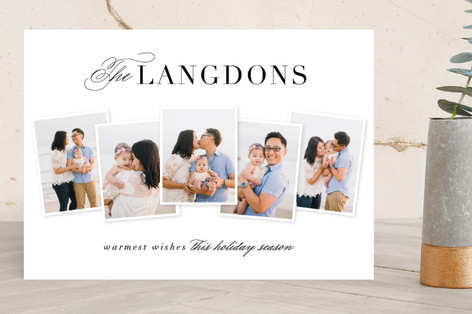 Holiday Heirloom Holiday Photo Cards