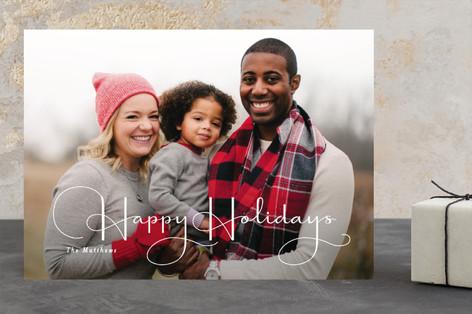 ganache Holiday Photo Cards