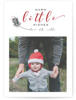 Little Xmas Holiday Photo Cards