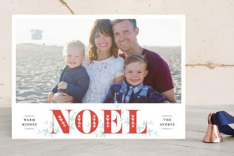 Nordic Vine Holiday Photo Cards