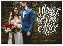 Merrily Ever After This Year Holiday Photo Cards