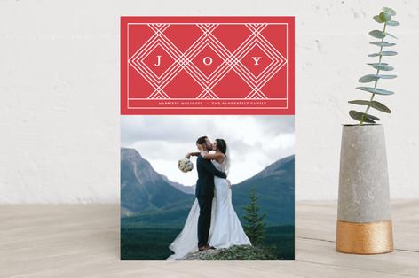symmetric Holiday Photo Cards