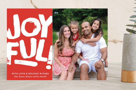 Just Joyful! Holiday Photo Cards