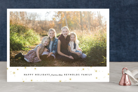 Midnight Clear Holiday Photo Cards