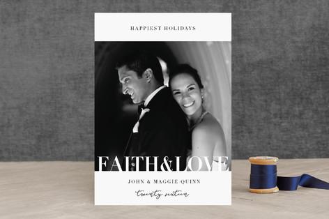 Faith & Love Holiday Photo Cards