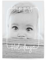 Holiday Text Frame by Kathleen Bly