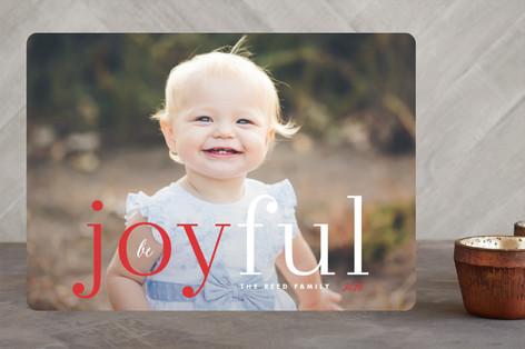 Joyfully Simple Holiday Photo Cards