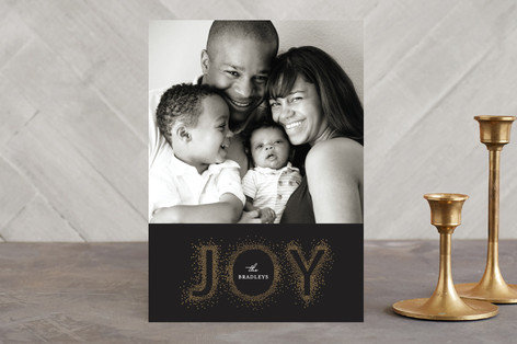 Glisten Holiday Photo Cards