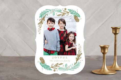 Woodland Holiday Holiday Photo Cards