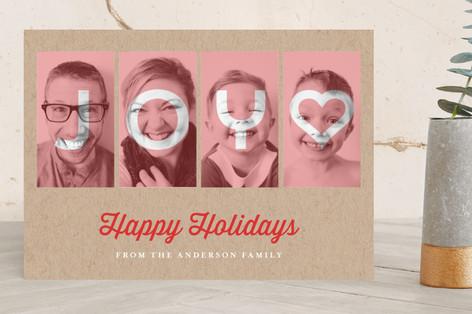 Framed Noel Holiday Photo Cards