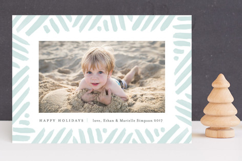 Winter's Frame Holiday Photo Cards
