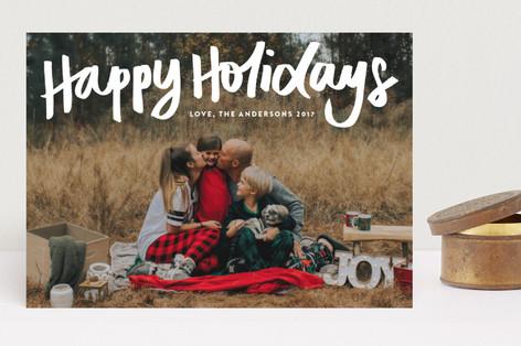 Happy Holidays Holiday Photo Cards